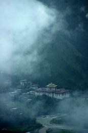 Paro Dzong, Bhutan, Himalayas