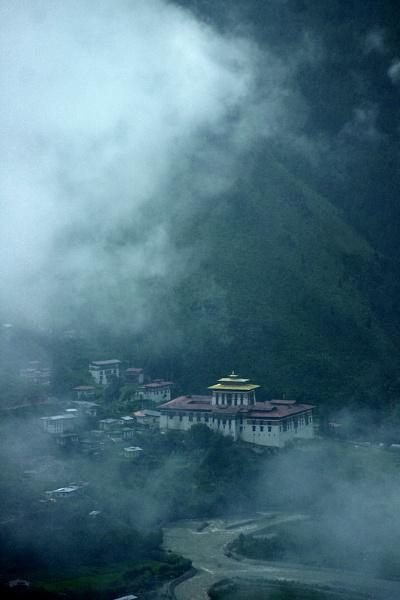 Paro Dzong, Bhutan, Himalayas by Bhutanbeau