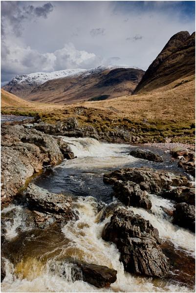 Glen Etive Falls... by Scottishlandscapes