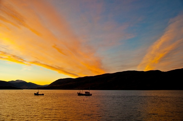 Ullapool Dawn by colmar
