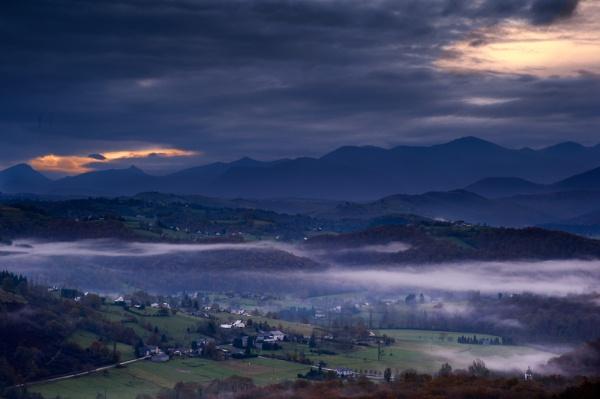 Misty Sunrise by Escaladieu