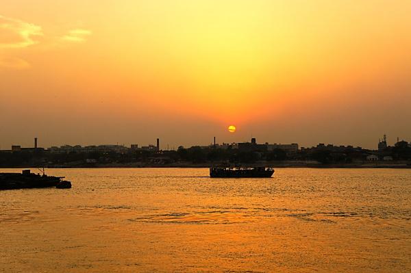 SUNSET by amitav