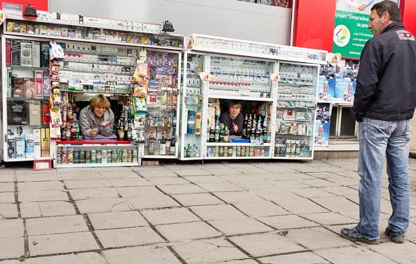 kiosk dwellers by ollimar71