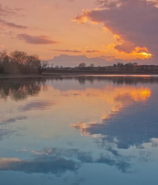 Pitsford Sunset by ambercat