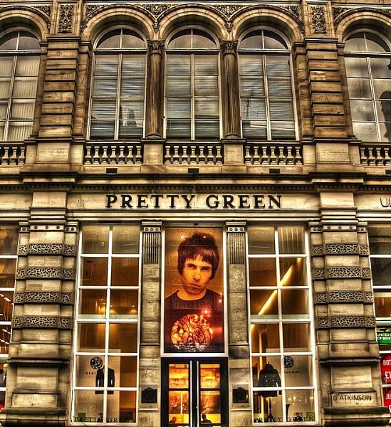 Pretty Green Glasgow by clickon