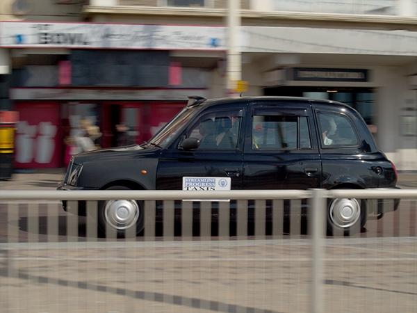 Black Cab by victorburnside