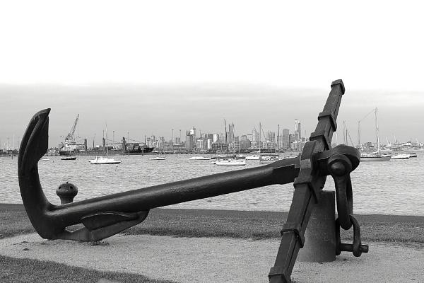 Anchor View by danmclean