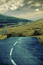 Isle of Arran, the way to Lochranza