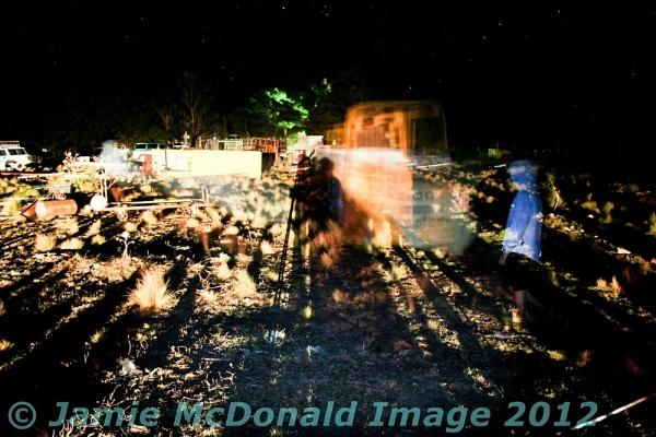 Night fire light by ablast