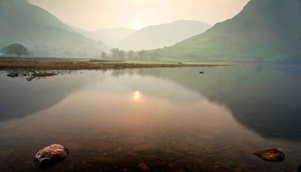 Misty Dawn by JulieLetten