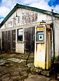 Six bob a gallon...