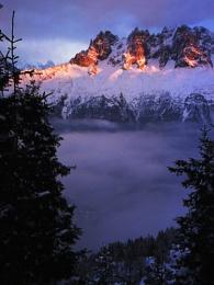 Alpine Scene, Cardboard Camera