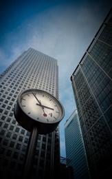 Canary Wharf Clock
