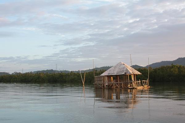 bamboo house by anjoedanas