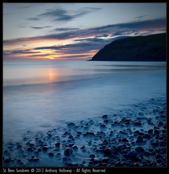 St. Bees Sundown by AntHolloway