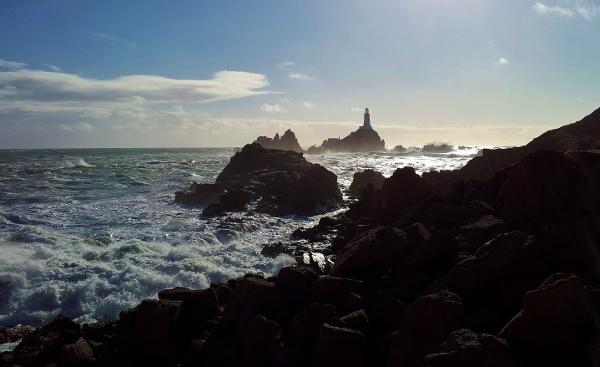 corbiere lighthouse by tricky66