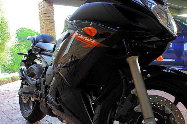 Yamaha FZ6R by danmclean