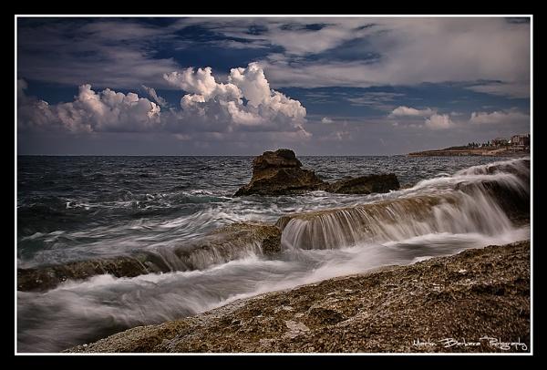 sea scape by fix