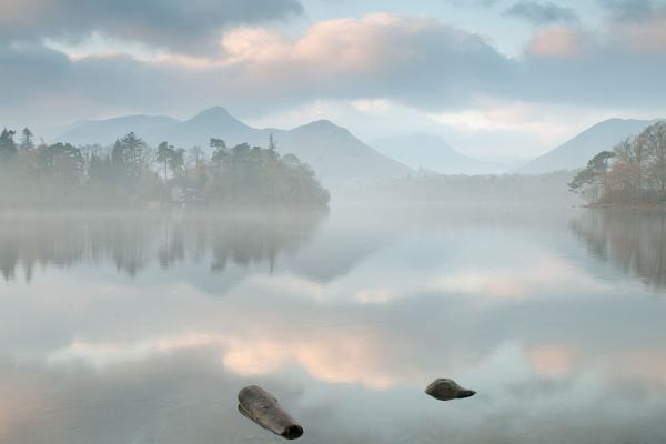 Derwentwater in the Mist by Paul1