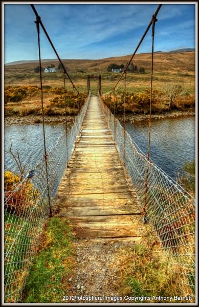 Suspension Bridge of Skye by fotosphere