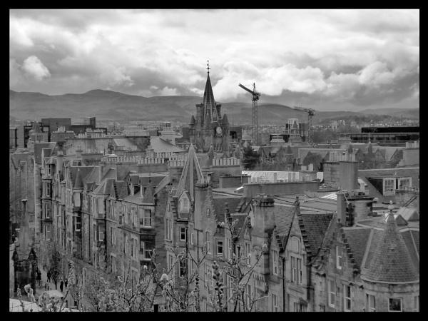 Edinburgh Roof Tops by NeOne303