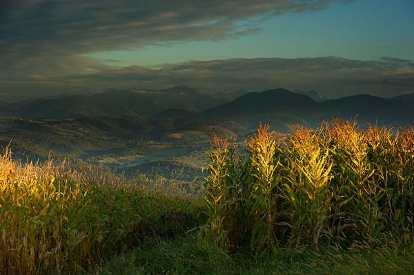Gascon Sunset by Escaladieu