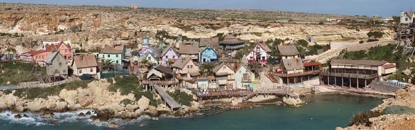 popeye\'s village Malta by stevehattan
