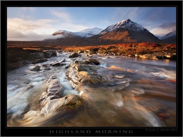 A New Day in Glencoe by Tynnwrlluniau