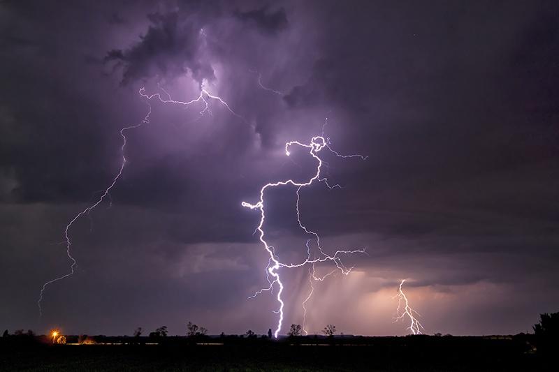 Thunderbolt and lightning...