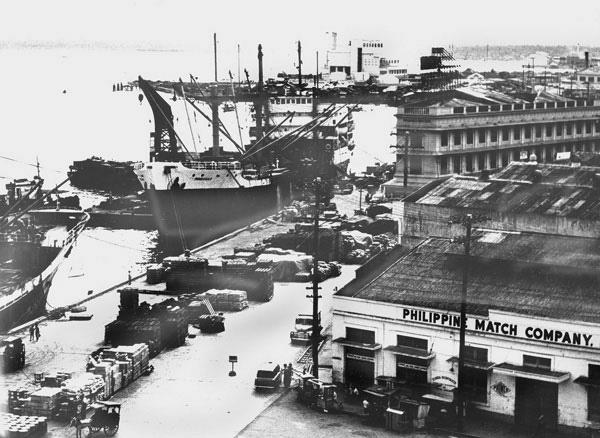 Cebu Harbor. 1964 by Carlkuntze