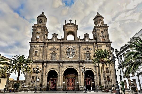 Catedral De Santa Ana - Las Palmas - Gran Canaria - HDR by Tad
