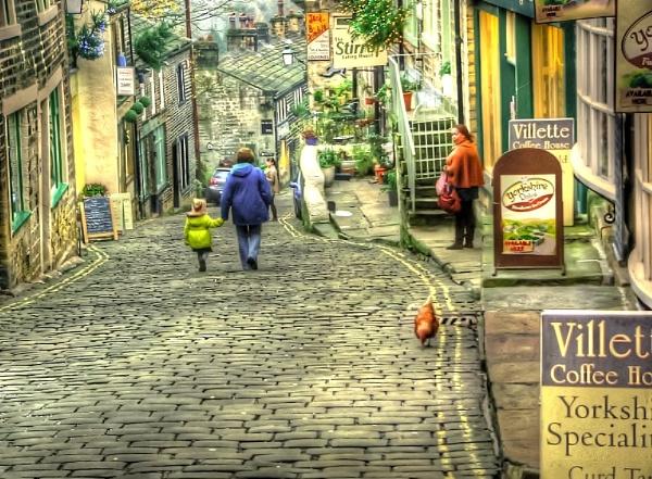 Cobbles Haworth by clickon