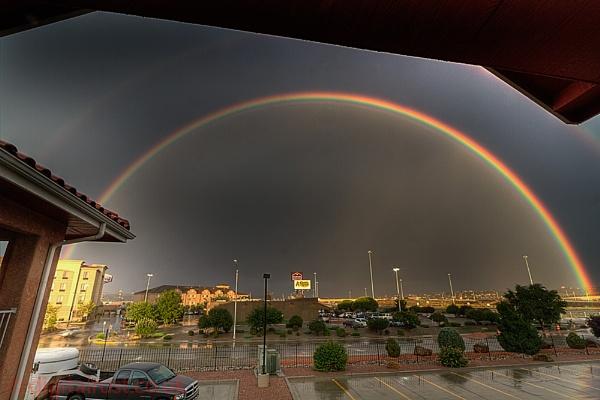 Rainbow powered by chedd