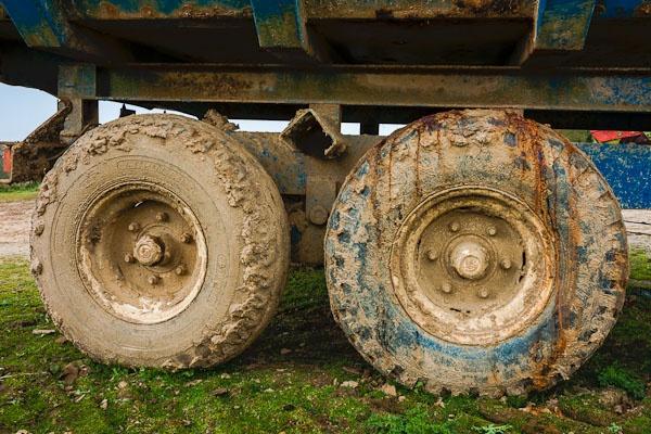 Trailer Wheels by JJGEE