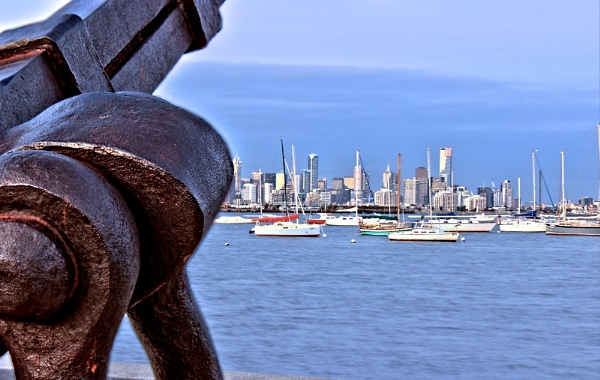HDR  Anchor at Melbourne by danmclean