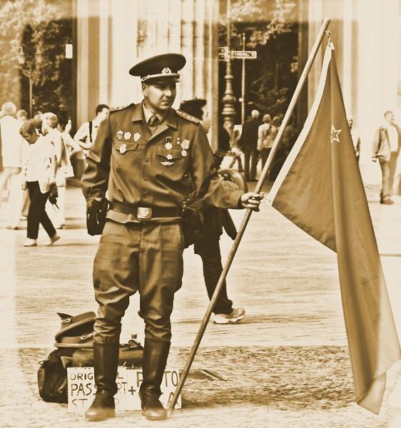 Russian In Berlin by danmclean