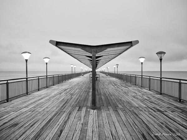Boscombe Pier by dgpoole