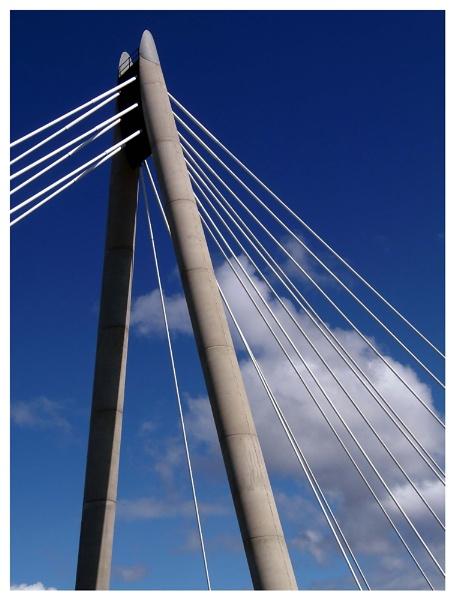 Southport Suspension bridge by vikki9876