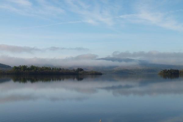 misty Loch Awe,Scotland by gixxergirl46