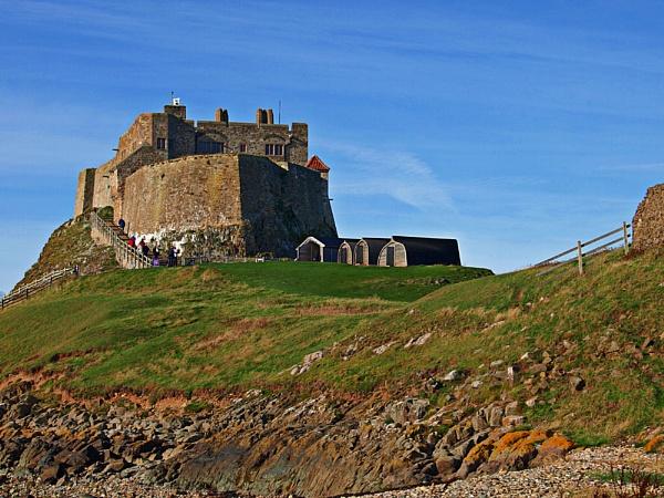 Lindisfarne Castle by kojack