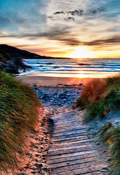 Beach Path by irishman