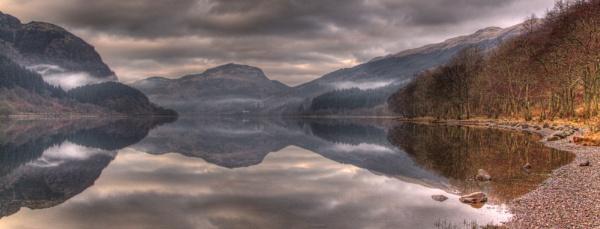 Loch Lubnaig Reflection by CameronCamera