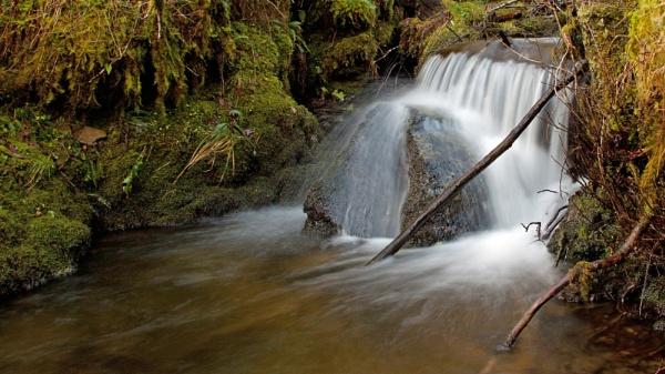 Loch Chon Waterfall by CameronCamera