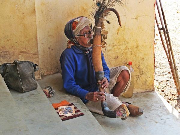Tribal Saxophone by Aetiyuel