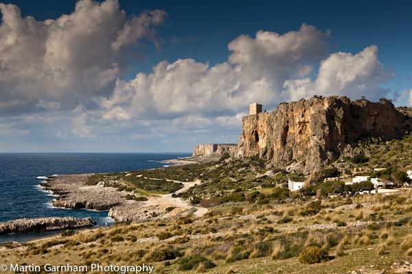 Seascape of San Vito lo Capo, Sicily. by garnham123