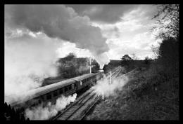 Mysterious Smoke (Goathland Station, North Yorkshire)