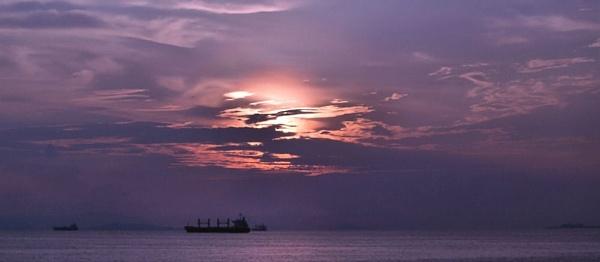 Panama sunset by johnbryan6