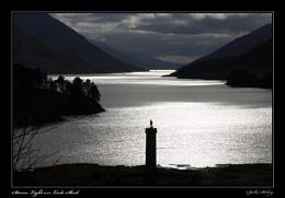 Storm Light o'er Loch Sheil
