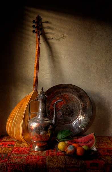 Still Life with Lute by RobDougall
