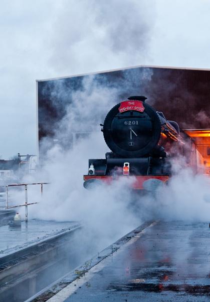 Steam Locomotive, Princess Elizabeth by ejways